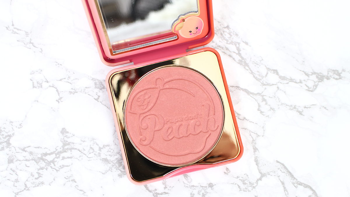 blush papa don't peach too faced avis