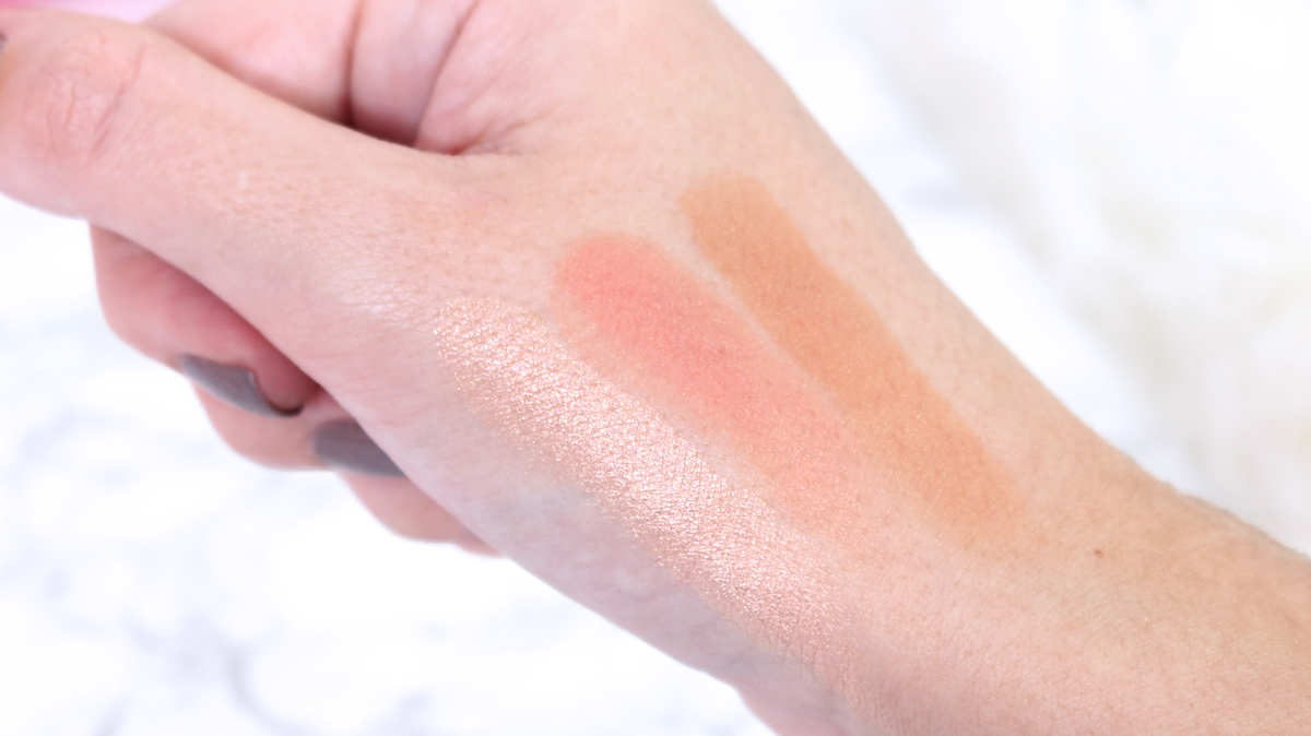 sweet peach too faced swatches