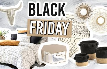 black friday déco sélection code promo