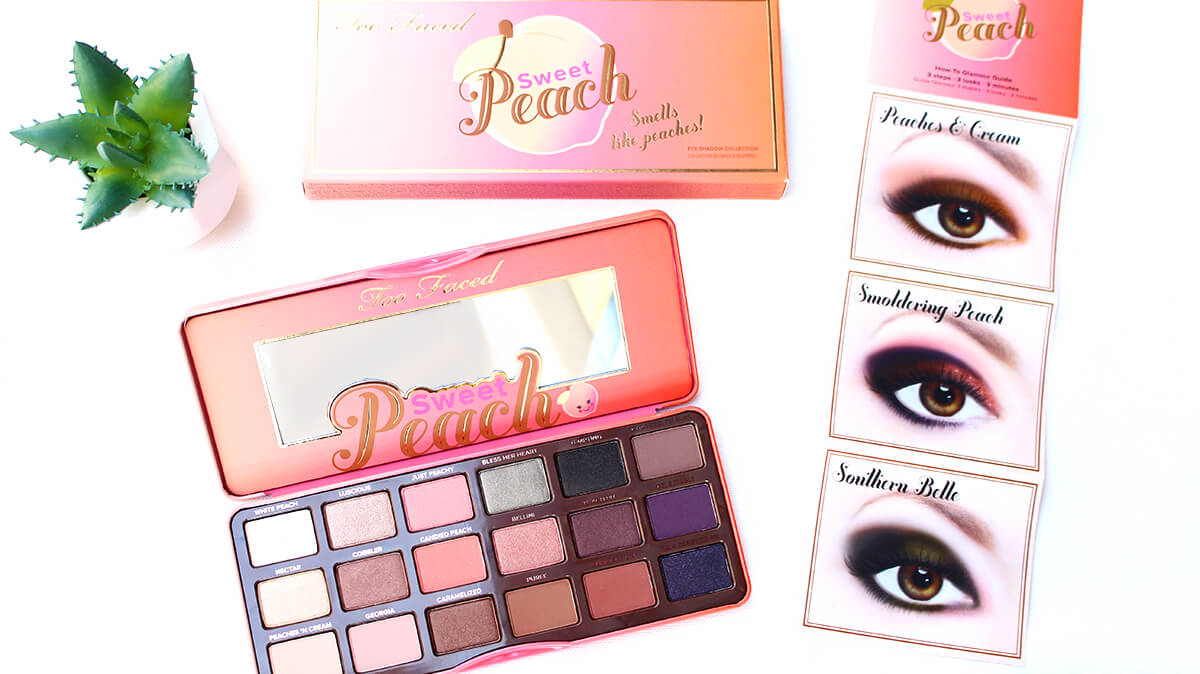 sweet peach too faced avis