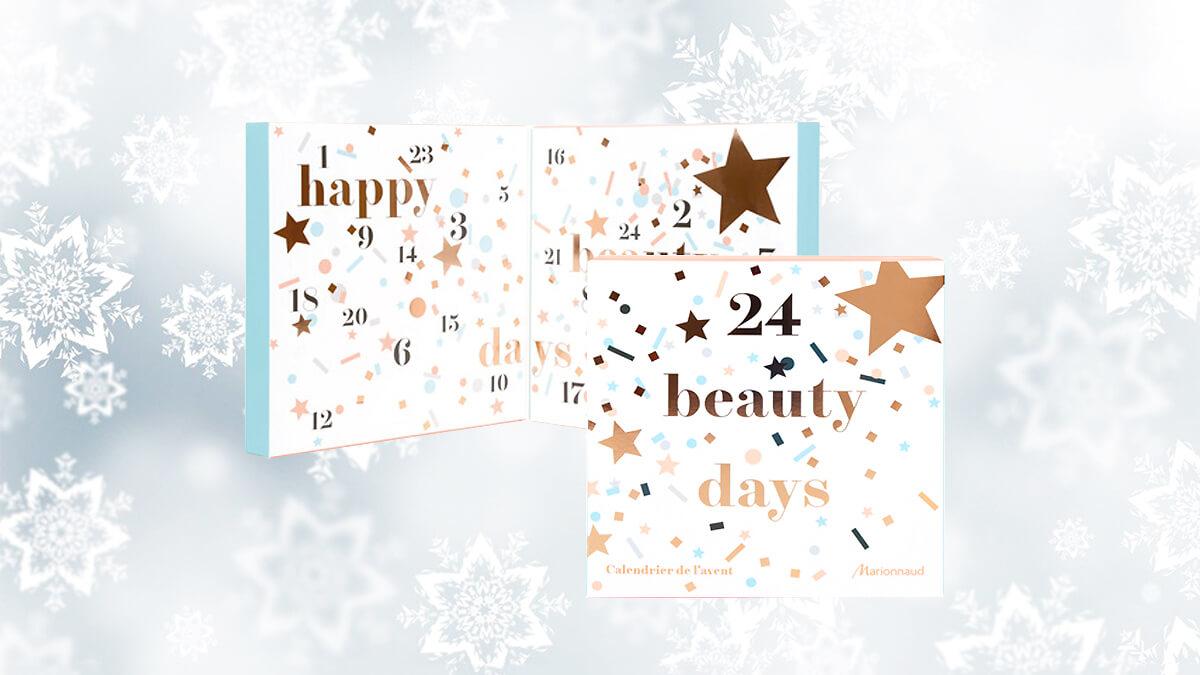 calendrier de l'avent beauté 2016