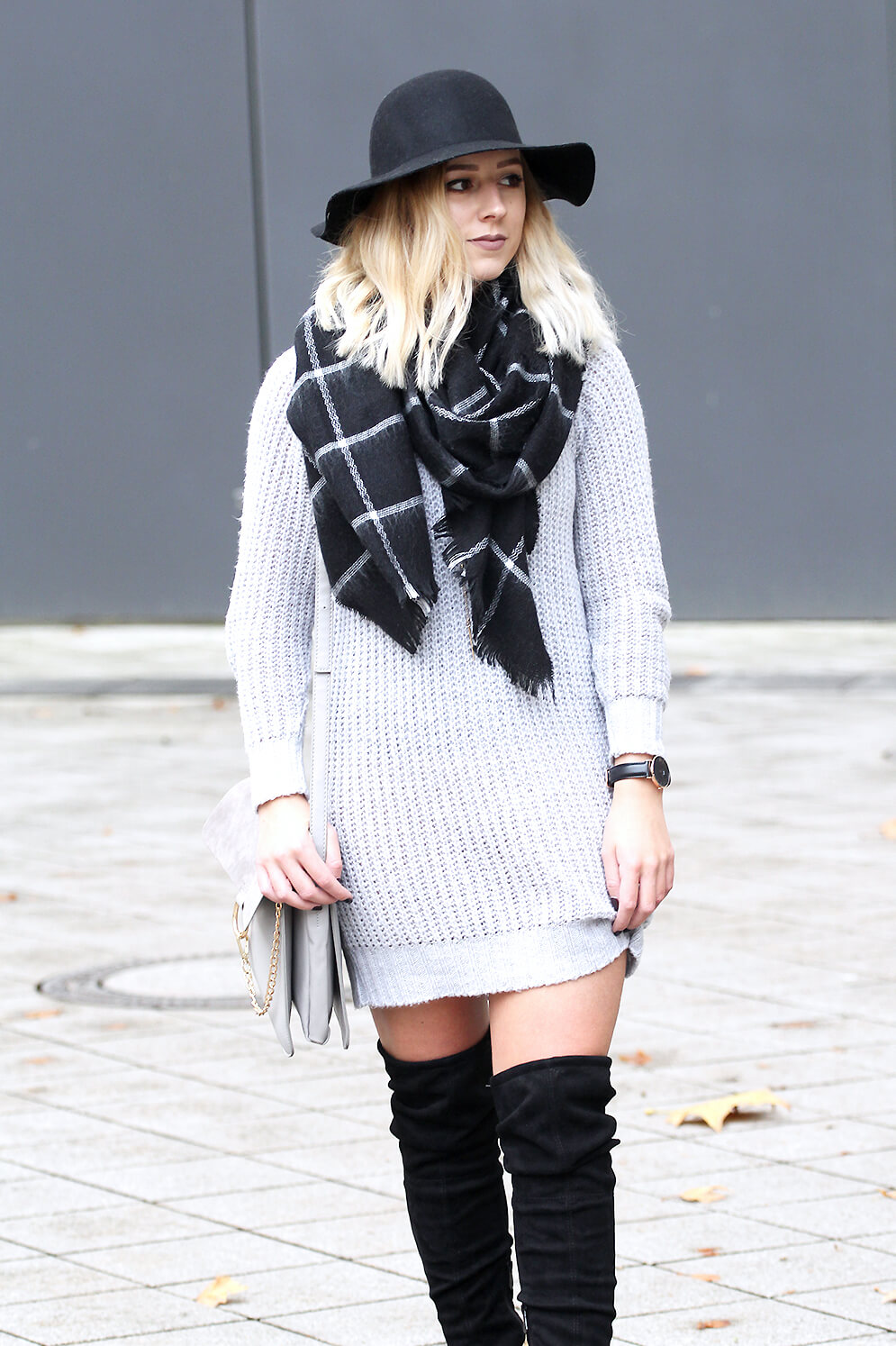 look Robe pull et cuissardes