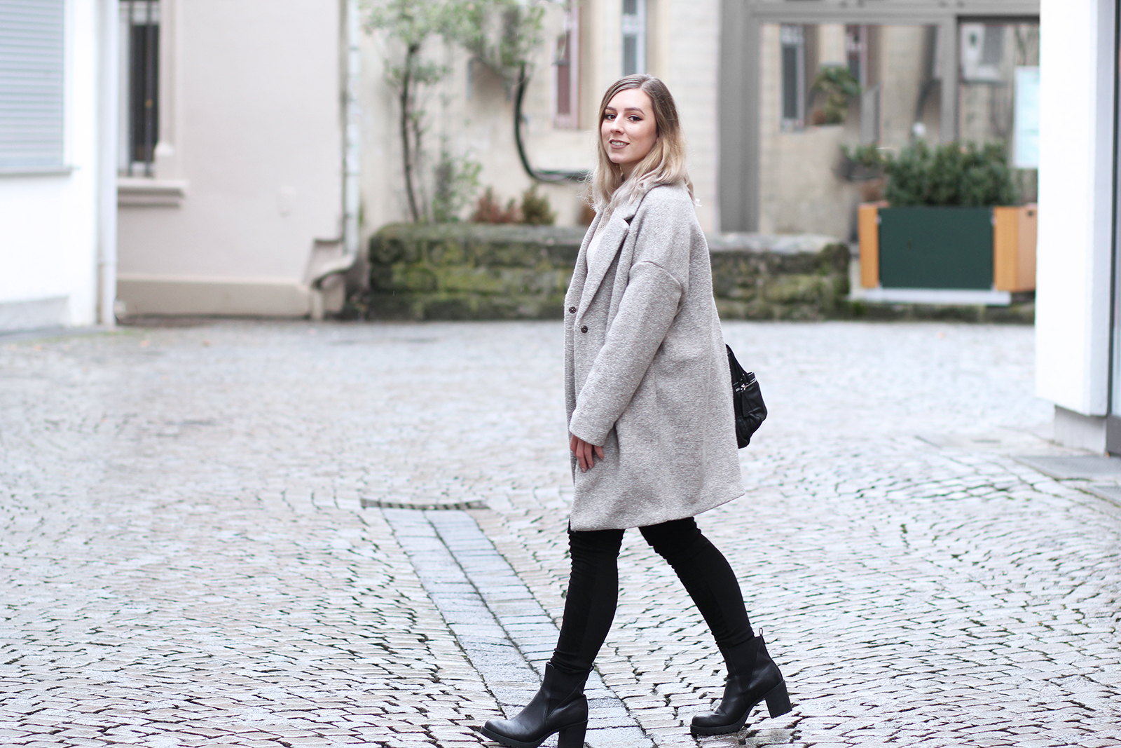look manteau oversize