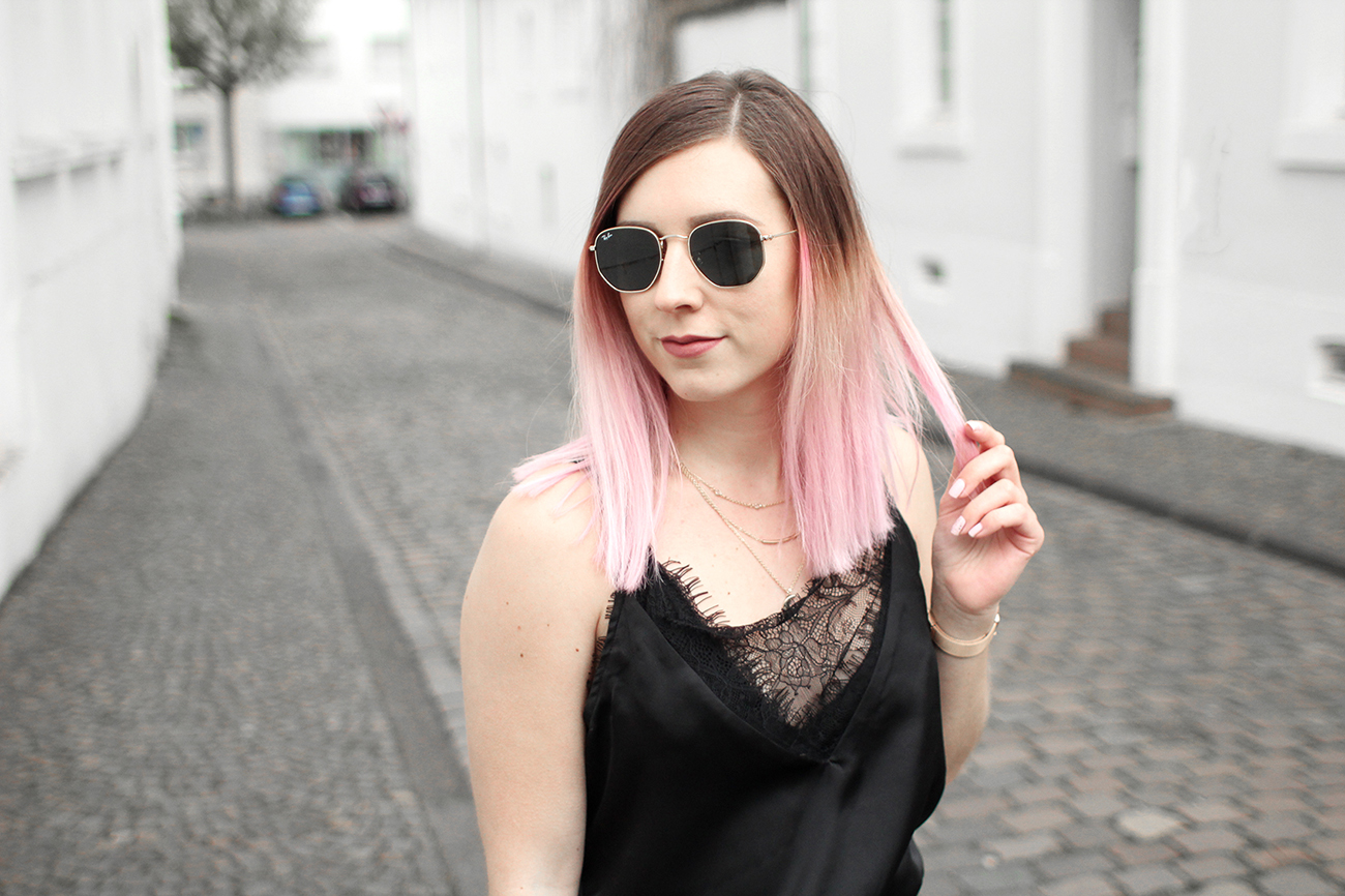 caraco missguided ray ban hexagonal