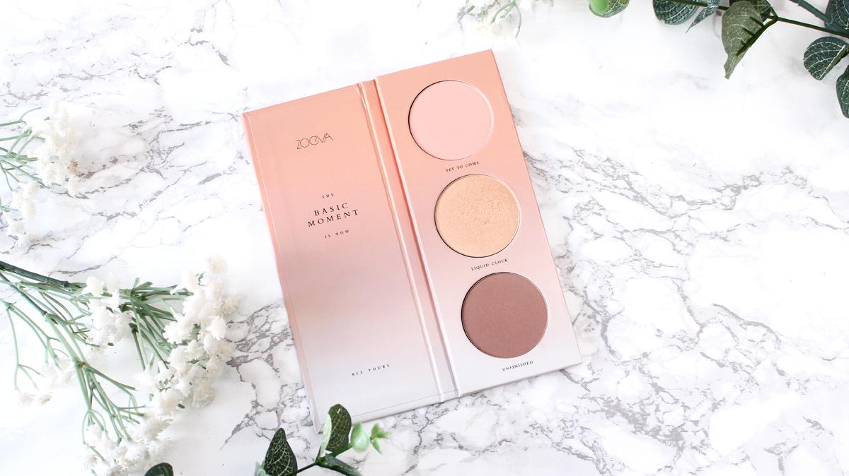 Palette blush Basic Moment ZOEVA