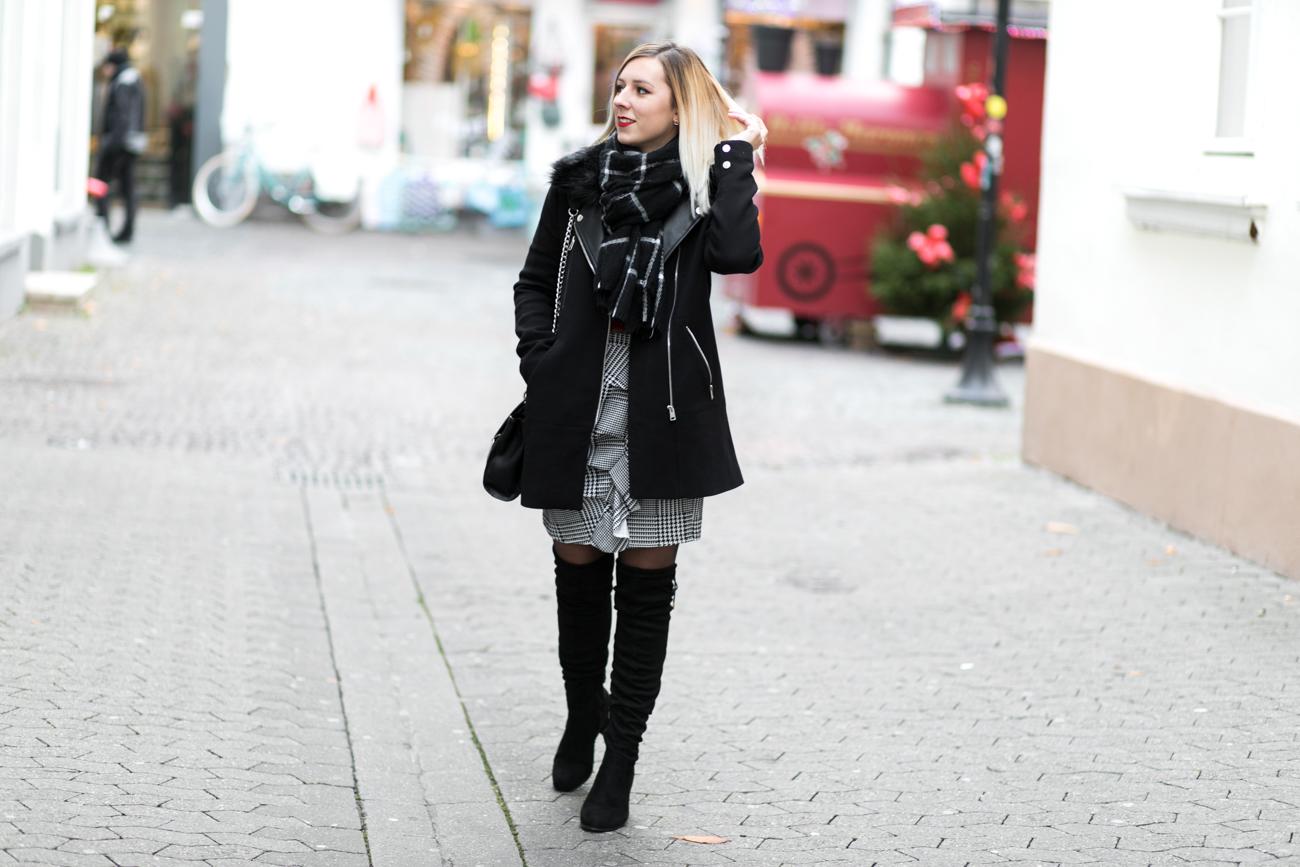 manteau noir pimkie