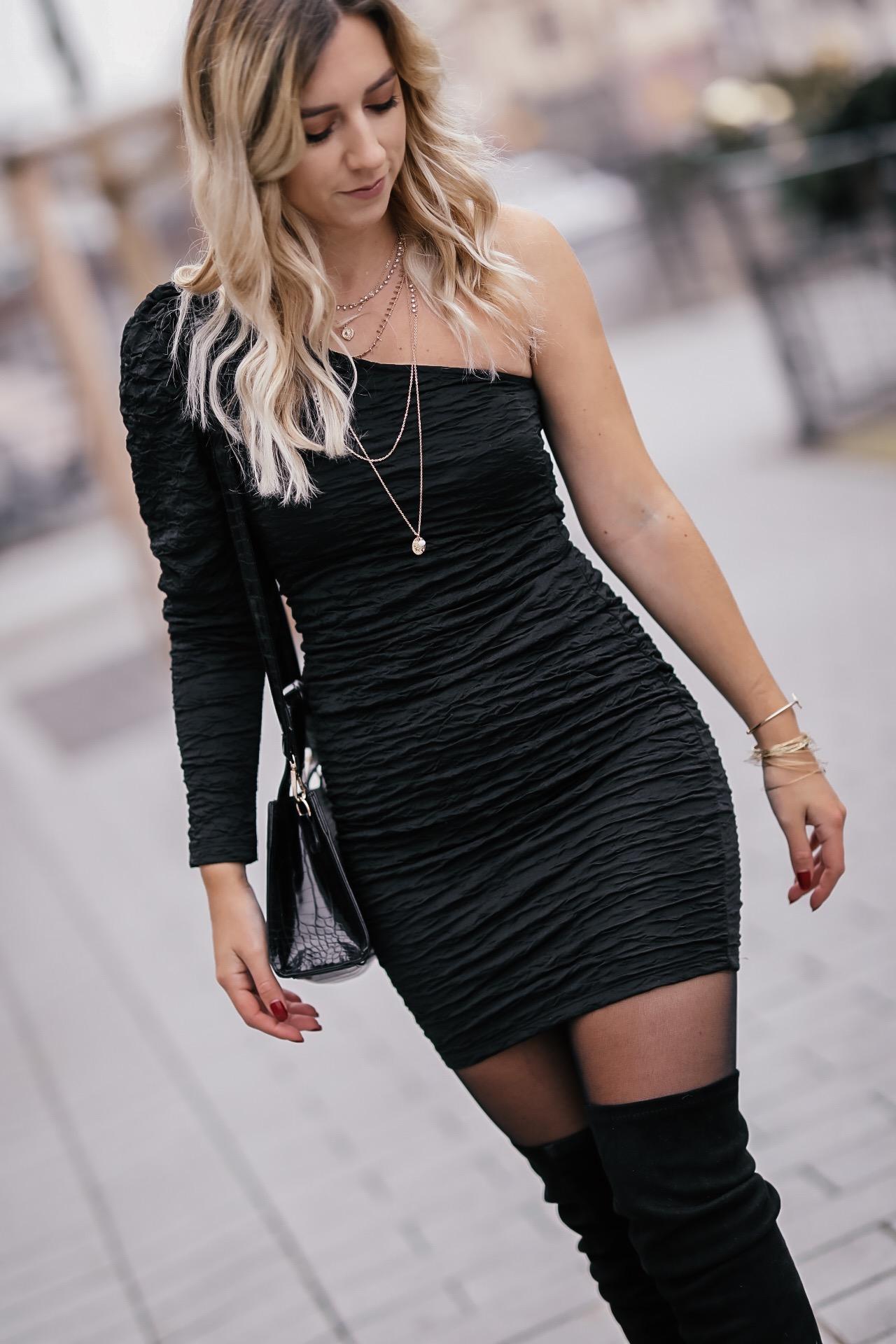 tenue de fête robe noire
